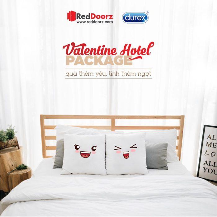 Valentine - Đặt phòng trên Reddoorz, nhận vé xem phim và hộp quà