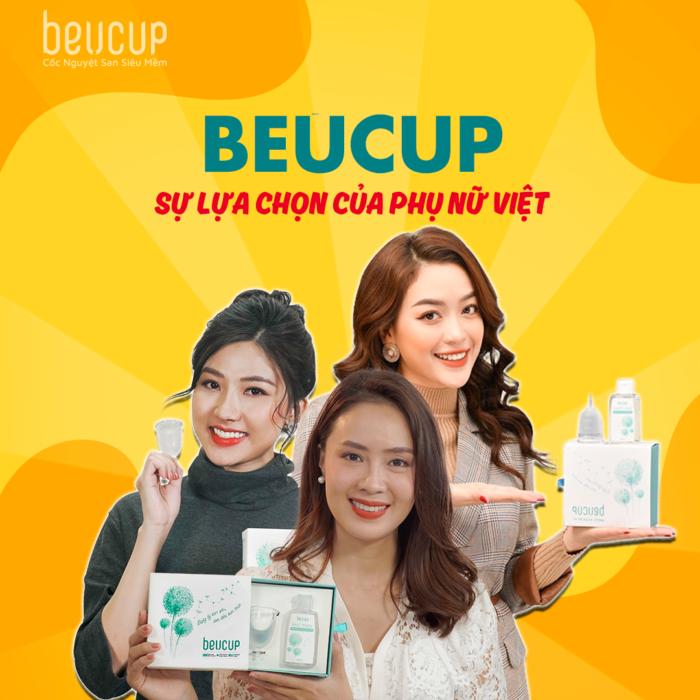 Cốc Nguyệt San BEUCUP là sản phẩm được thiết kế dành cho phụ nữ, cứu cánh ngày đèn đỏ