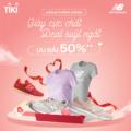 New balance ra mắt trên Tiki - deal giày cực chất