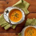 Súp cà rốt gừng - nhẹ bụng, dễ làm, tốt cho sức khỏe