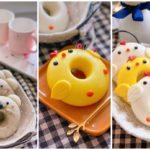 Bánh bao sữa tạo hình Donut