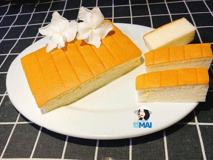 Công thức làm cốt bánh gato HongKong bằng nồi chiên không dầu