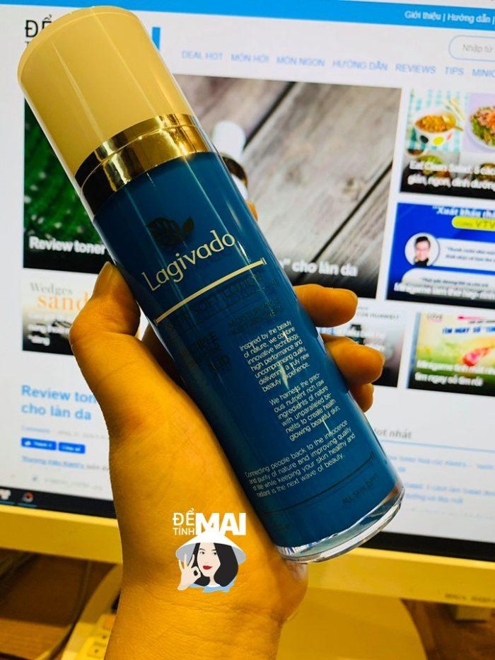 Review sữa dưỡng da Lagivado