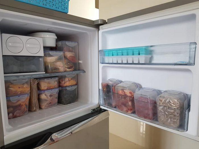 trữ đông thực phẩm tủ lạnh