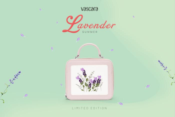 Vascara - bộ sưu tập lãng mạn Summer Lavender - Hoa Oải Hương Mùa Hạ