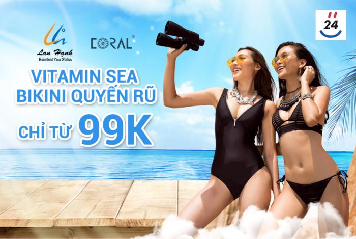 Deal Yes24: Đồ bơi giảm giá chỉ từ 99.000đ/bộ