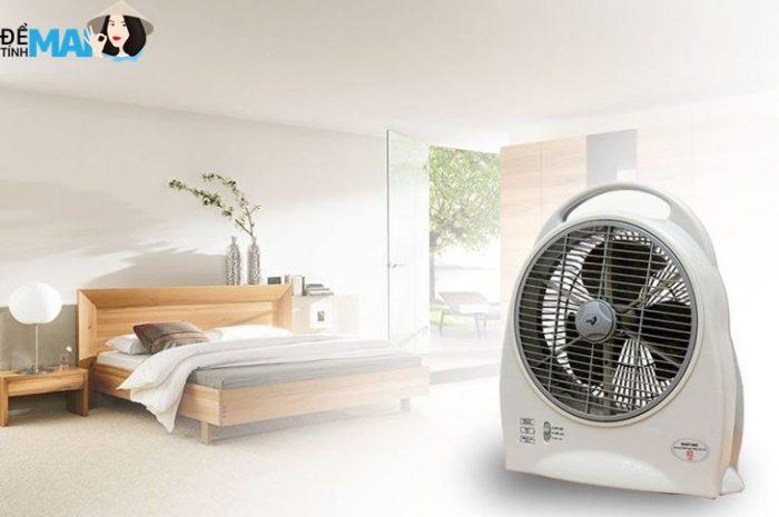 Top 5 quạt tích điện chất lượng tốt, giá hợp lý nhất
