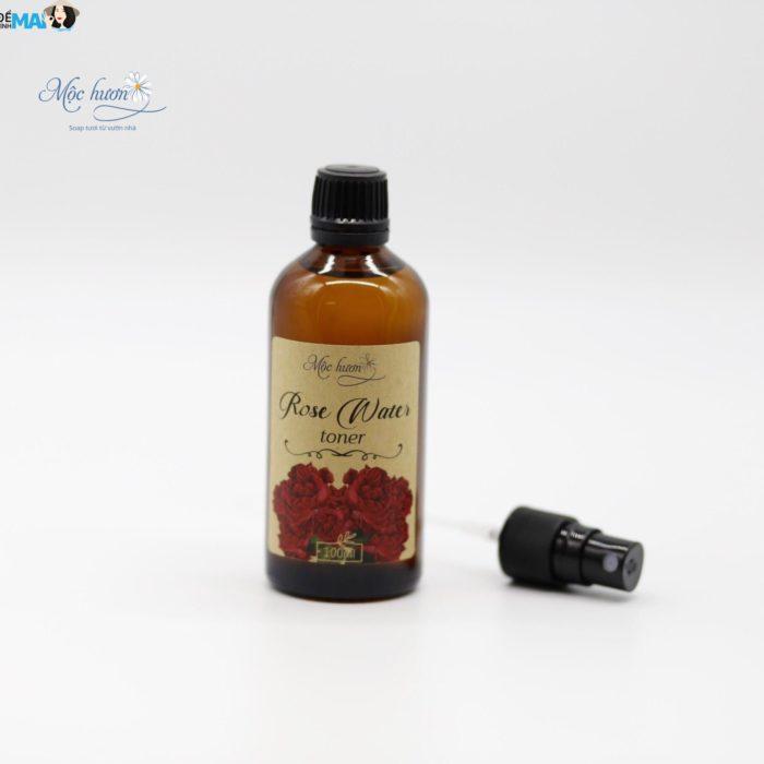 Nước hoa hồng tươi thiên nhiên Mộc Hương - dưỡng ẩm hiệu quả cho da rạng ngời