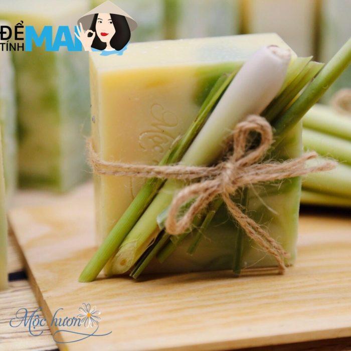 """Soap sả chanh Mộc Hương: xà phòng """"spa trị liệu tại nhà"""" giá tốt nhất hôm nay"""