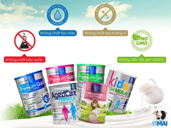 Top 7 thương hiệu sữa Úc tốt nhất được các mẹ Việt lựa chọn cho con