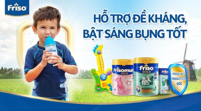 Tổng hợp các loại sữa bột FRISO đang khuyến mãi, ưu đãi giảm giá tốt nhất