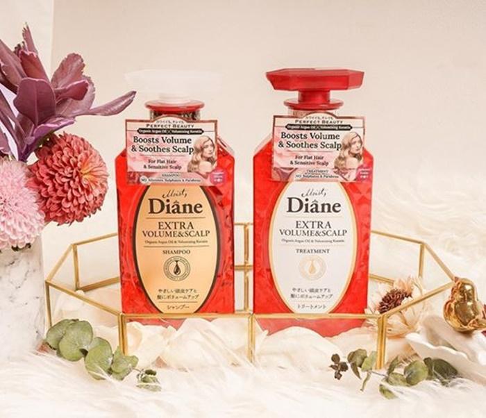 Cặp gội - xả Moist Diane: Ướp hương thiên nhiên trong mái tóc mềm
