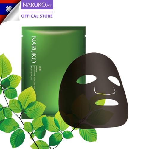 mặt nạ kiểm soát dầu và mụn trà tràm Naruko Tea Tree