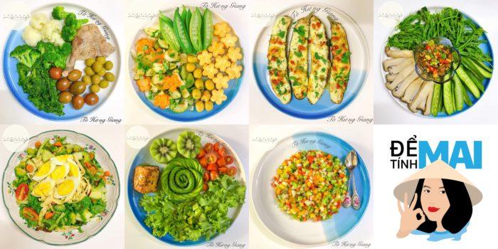 Gợi ý thực đơn keto salad tham khảo, bổ sung vitamin, thon dáng đẹp da