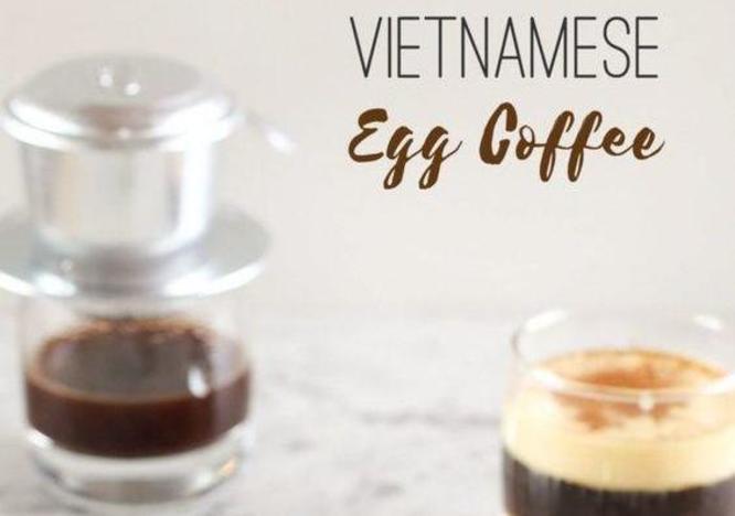 Cách pha cafe trứng