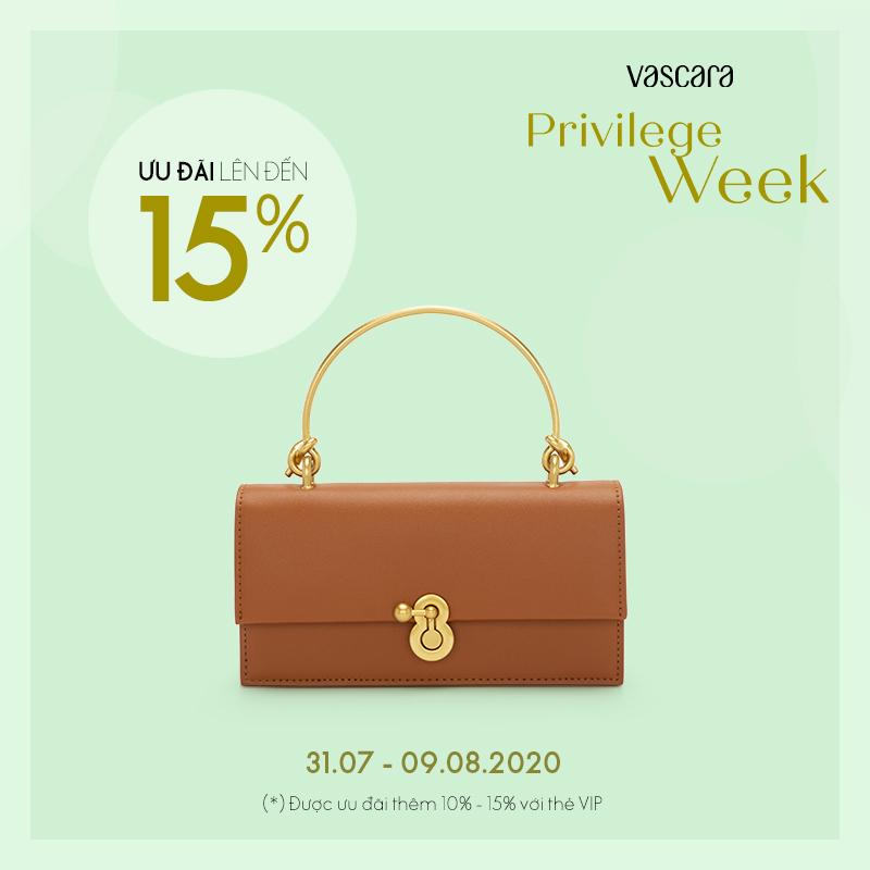 Vascara ưu đãi giảm giá túi xách