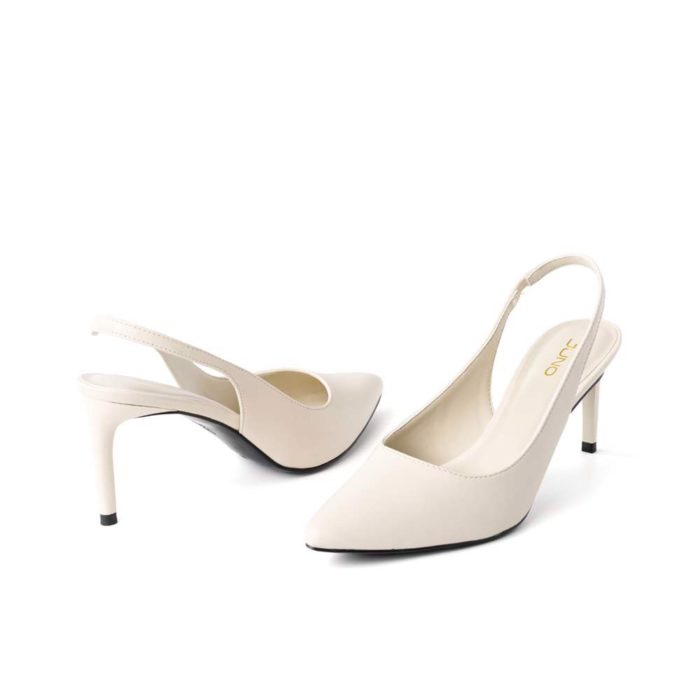 Giày cao gót Juno chính hãng, slingback mũi nhọn gót thanh giá tốt nhất hôm nay