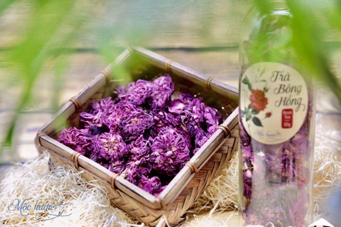 Trà hoa hồng Mộc Hương - giữ trọn hương hoa sớm mai thanh khiết trong ly trà thơm ngát