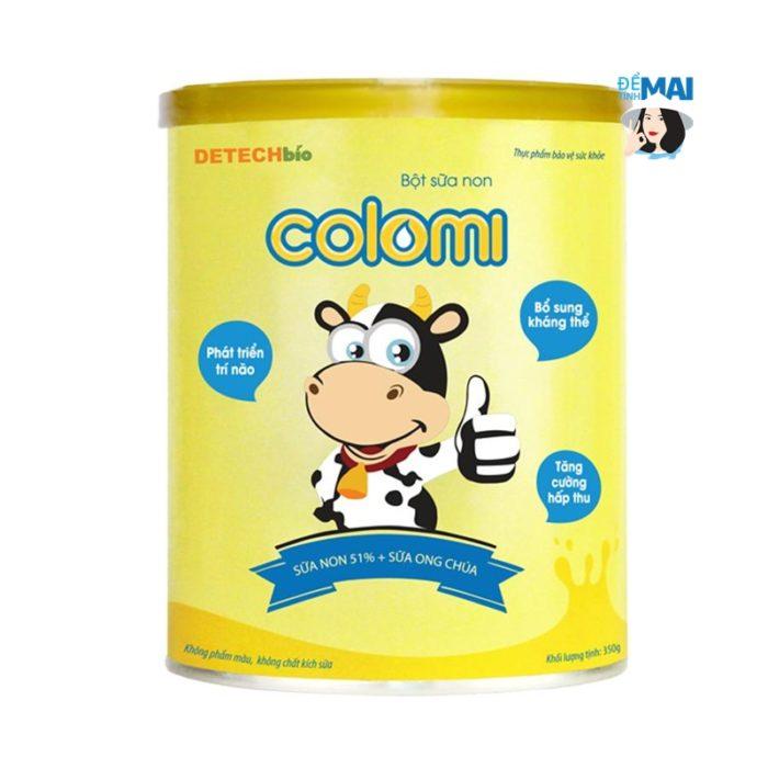 Sữa non Colomi cho bé biếng ăn, chậm lớn, táo bón