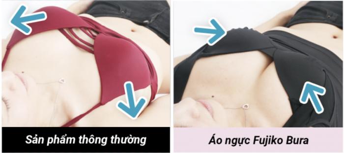 Fujiko Bra nâng ngực tại gia