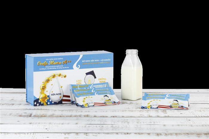 Cách sử dụng sữa non Onefa Mama