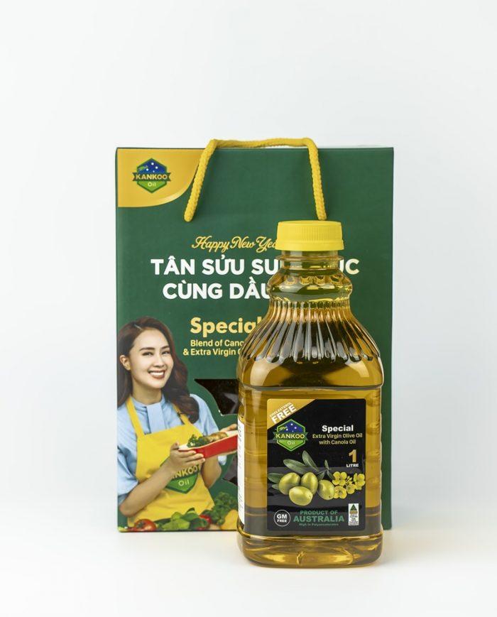Quà Tết dầu ăn Úc Kankoo
