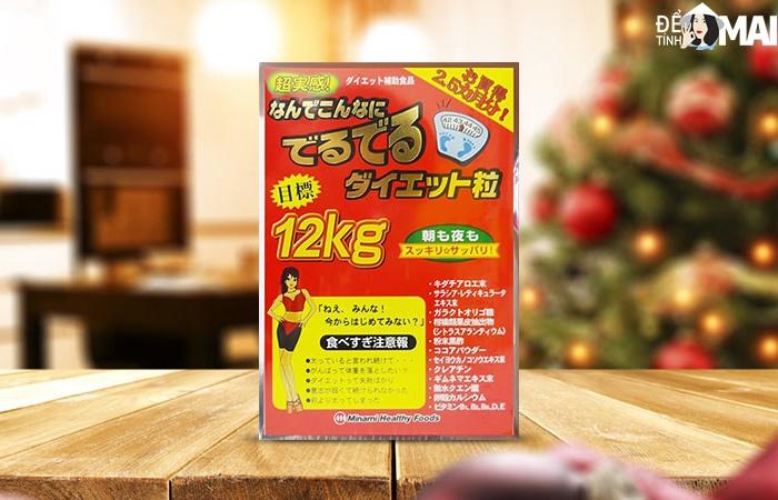 Viên uống hỗ trợ điều chỉnh cân nặng - giảm cân 12kg 75 gói Minami Healthy Foods chính hãng giá tốt