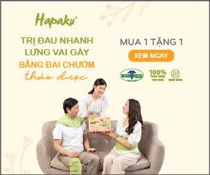 Quà sức khỏe - Đai chườm thảo dược Hapaku