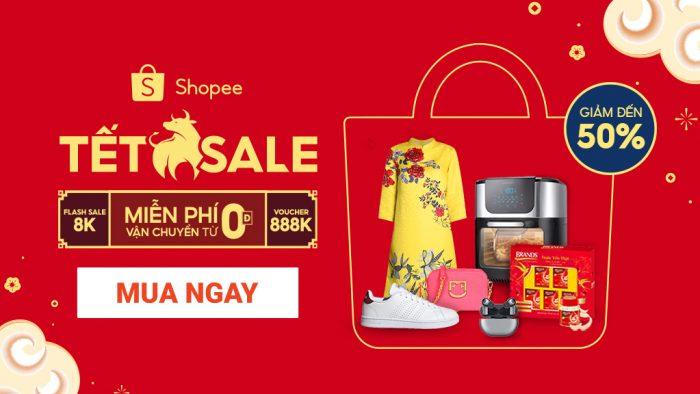Toàn bộ Deal hot Tết Tân Sửu trên Shopee