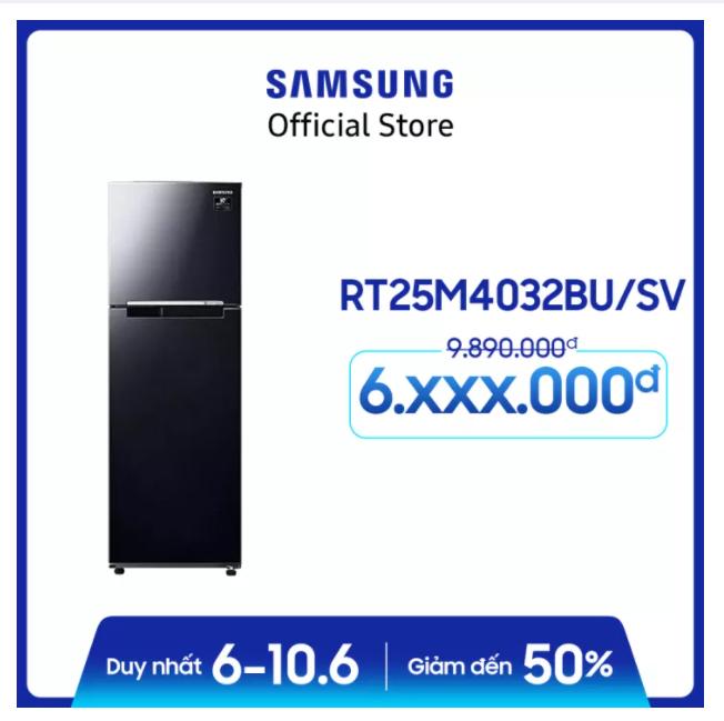 Tủ lạnh Samsung Inverter 256 lít RT25M4032BU/SV giảm 33%