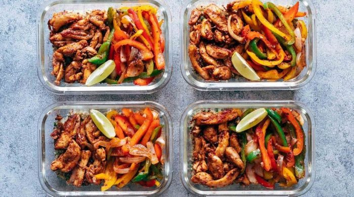Meal Prep - phương pháp chuẩn bị đồ ăn cho cả tuần