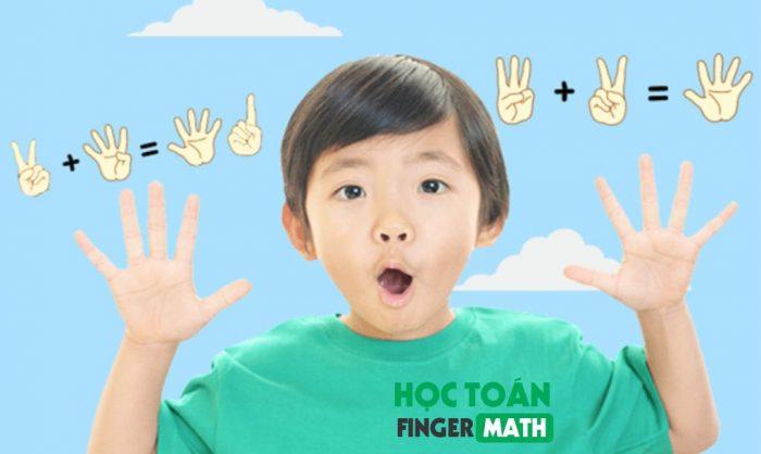 Khóa học toán tư duy FingerMath ở Kynaforkids giúp bé dễ tiếp thu, yêu môn toán