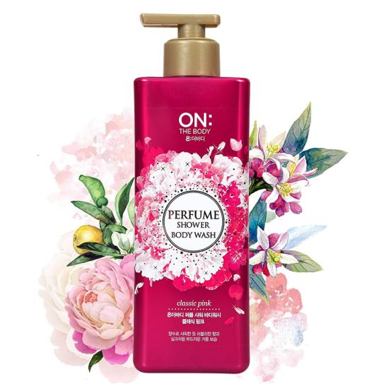 Sữa tắm On The Body Classic Pink